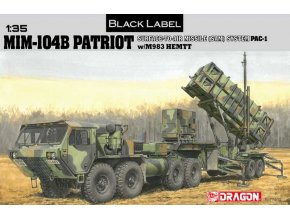 Dragon - taktický mobilní raketový systém MIM-104 Patriot, Model Kit 3558, 1/35