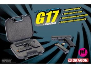 Dragon - G17 + GUN CASE, Model Kit zbraň 1301, 1/3