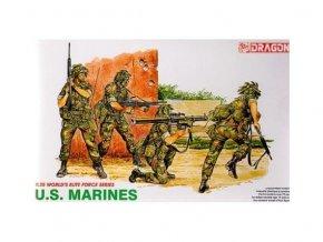 Dragon - figurky U.S. Marines, Model Kit 3007, 1/35