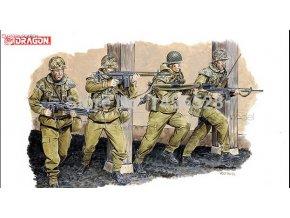 Dragon - figurky německých výsadkářů, Model Kit 3021, 1/35