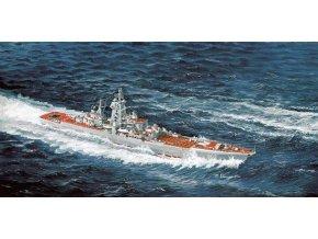 Dragon - ruský křižník třídy Sverdlov, Admirál Ušakov, 1/700, Model Kit 7037
