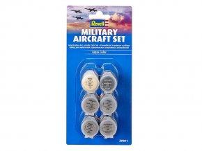 Revell - Sada barev Aqua Color 39071 - vojenské letouny