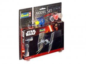 Revell - Star Wars - TIE Fighter, ModelSet SW 63605, 1/110