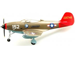 """Easy Model - P-39Q Aircobra, USAAF, 332d Fighter Group """"Tuskegee Airmen"""", ''Red Tails'', 1/72"""