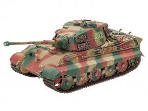 Revell - Pz.Kpfw.VI Ausf.B Tiger II - Königstiger, věž Henschel, Plastic ModelKit tank 03249, 1/35