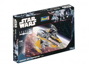Revell - Star Wars - Anakin´s Jedi Starfighter, 1/58, Plastic ModelKit SW 03606