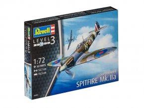 Revell - Supermarine Spitfire Mk.IIa, Plastic ModelKit letadlo 03953, 1/72