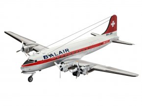 Revell - Douglas DC-4, Balair/ Iceland Airways, 1/72, Plastic ModelKit letadlo 04947