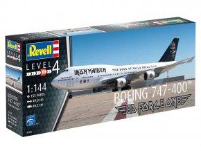 "Revell - Plastic ModelKit letadlo Limited Edition 04950 - Boeing 747-400 ""IRON MAIDEN"", 1/144"