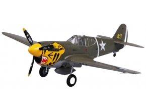 Easy Model - Curtiss P-40E Warhawk, USAAF, 11.FS, 1/72
