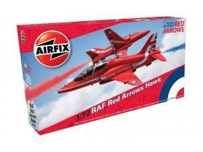Airfix - Bae Hawk, RAF Red Arrows, 1/72, Classic Kit A02005C