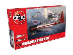 Airfix - Nakajima B5N1 Kate, Classic Kit A04060, 1/72