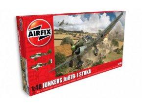 Airfix - Junkers Ju-87 B-1 Stuka, Classic Kit A07114, 1/48