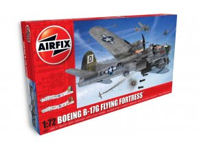 Airfix - Boeing B-17G Flying Fortress, 1/72, Classic Kit A08017