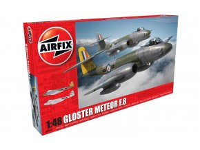 Airfix - Gloster Meteor F.8, Classic Kit A09182, 1/48