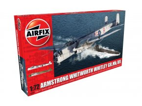 Airfix - Armstrong Whitworth Whitley GR.Mk.VII, 1/72, Classic Kit A09009