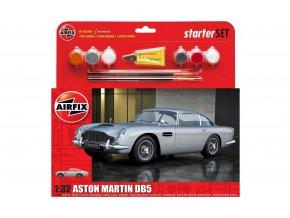 Airfix - Aston Martin DB5 - Silver, 1/32, Starter Set A50089A