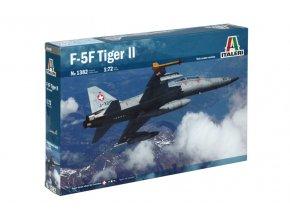 Italeri - Northrop F-5 F Tiger II, Twin Seater, Model Kit 1382, 1/72