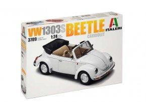 Italeri - Volkswagen VW1303S Beetle Cabriolet, Model Kit 3709, 1/24
