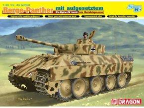 Dragon - Pz.Kpfw.V Berge-Panther s tankovou věží z tanku Pz.Kpfw.IV, Model Kit 6835, 1/35