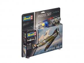 Revell - Supermarine Spitfire Mk.II, Model Set 63959, 1/48