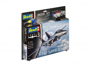 Revell - Grumman F-14 D Super Tomcat,  Model Set 63960, 1/72