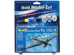 Revell - Focke Wulf Ta-152, Model Set 63981, 1/72