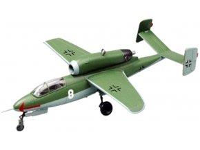 Easy Model - Heinkel He-162 Salamander, 1./JG, květen 1945, 1/72