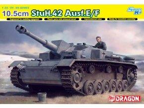 Dragon - 10.5cm StuH.42 Ausf.E/F, 1/35, Modelkit 6834