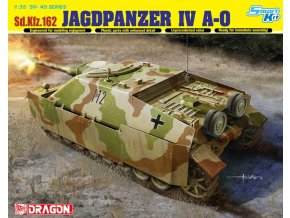 Dragon - Sd.Kfz.162 Jagdpanzer IV A-0, Model Kit 6843, 1/35