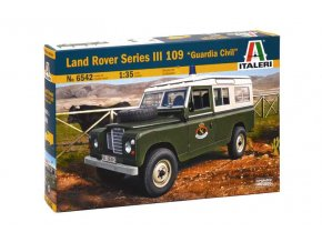 Dragon - Land Rover III 109, Model Kit 6542, 1/35