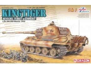 Dragon - Pz.Kpfw.VI Ausf.B Tiger II - Königstiger, Model kit 6840, 1/35