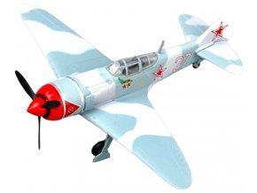 "Easy Model - Lavochkin La-7, sovětské letectvo, 176.GFAR, ""White 27"", I. Kozhedub, 1/72"