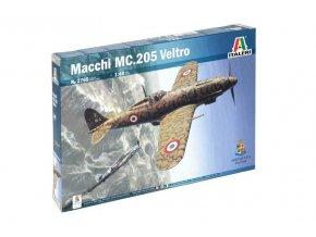 Italeri - Macchi MC.205 Veltro, Model Kit 2765, 1/48