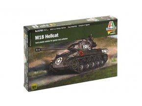 Italeri - M18 Hellcat, US Army, Model Kit 15762, 1/56