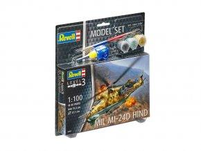 Revell -  Mil Mi-24D Hind, 1/100, ModelSet 64951