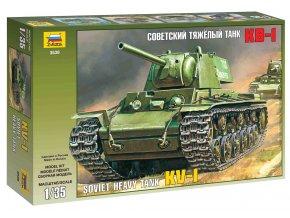 Zvezda - těžký tank KV-1, Model Kit 3539, 1/35