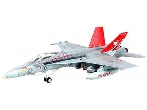 "Easy Model - McDonnell Douglas F/A-18C Hornet, US NAVY, VFA-131, ""Wildcats"", 1/72"