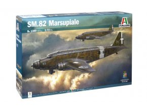Italeri - Savoia-Marchetti SM.82 Marsupiale, 1/72, Model Kit 1389