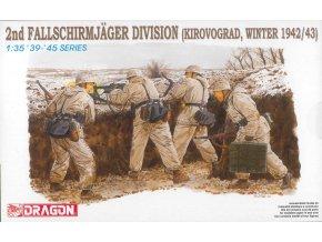Dragon - 2. výsadkářská divize, Kirovograd, zima 1942/43, 1/35, Model Kit 6157