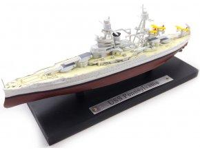 Atlas Models - Bitevní loď USS Pennsylvania (BB-38), US Navy, 1/1250