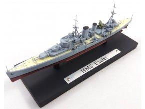 Atlas Models - těžký křižník HMS Exeter, Royal Navy, 1/1250