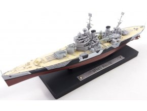 Atlas Models - Bitevní loď HMS Anson, Royal Navy, 1/1250
