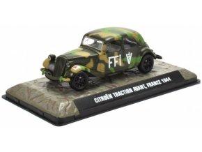 Atlas Models - Citroen Traction Avant, FFI - francouzské hnutí odporu, Francie, 1944, 1/43