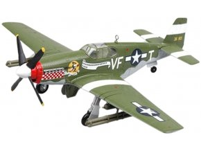 Easy Model - North American P-51B Mustang, USAAF, 336th FS, Capt.D.Gentile, 1/72