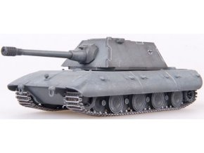 0003211 germany wwii e100 with krupp turret german grey 1946 german grey color