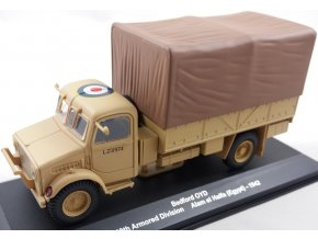 Eaglemoss - Bedford OYD, 10th Armored Division, Alam el Halfa Egypt, 1942, 1/43