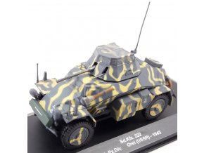 Eaglemoss - Sd.Kfz.222, Wehrmacht, 20. Pz.Div., Orel, SSSR, 1943, 1/43