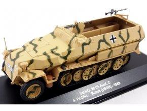 Eaglemoss - Sd.Kfz.251/1 Ausf.C ''Hakl'', Wehrmacht, 4. Pz.Div., Kursk, SSSR, 1943, 1/43