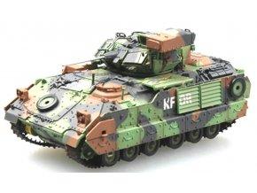 Easy Model - M2A2 Bradley, US Army, operace Pouští bouře, Irák, 1991, 1/72
